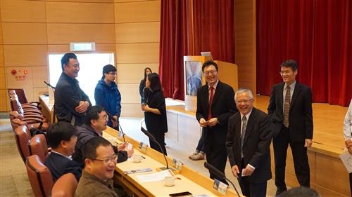 滁州學院貴賓參訪蘭陽校園活動