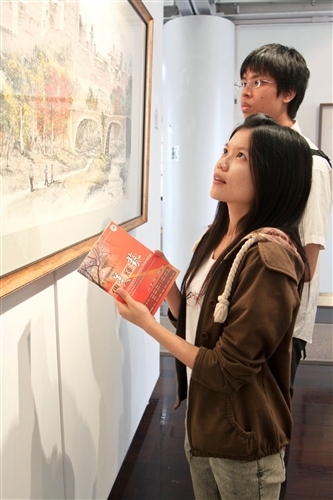 傳美輝藝—本校文錙藝術中心自即日起舉辦「諮詢委員作品暨收藏展」。