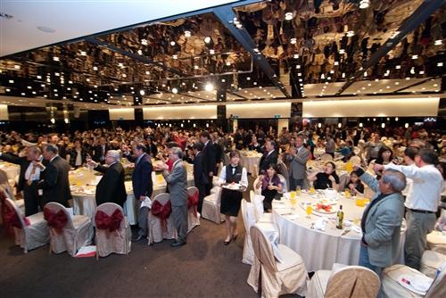 馬總統蒞臨60週年校慶慶祝大會,祝福淡江生日快樂!