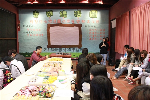 「走進綠活圖」--學生事務處舉辦繪製淡水綠活圖成果展。