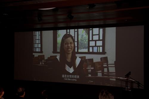 《《那些淡江教我們的事》淡江大戲今日首映發表。
