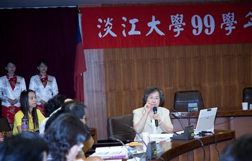 增聘51名專任教師,本校召開「99學年度新聘教師座談會」。