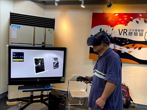 河海山城老淡水-蔡坤煌攝影VR展閉幕茶會