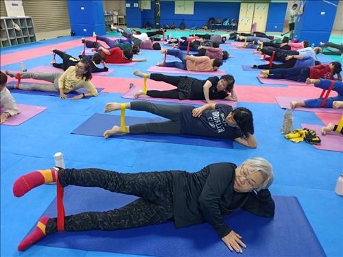 樂活健康-銀髮長照:樂齡健康動起來-「有氧律動伸展操」