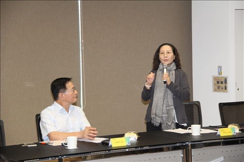 本校與新北市經發局洽談AWS校園人才培育計畫