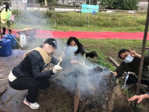 國際生看臺灣 | 控窯體驗