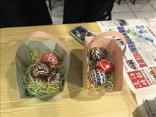 復活節彩蛋DIY成品