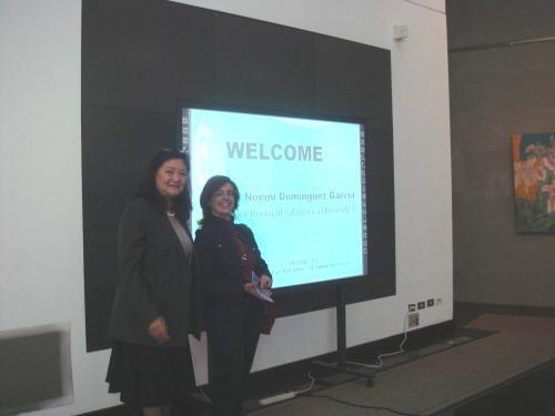 西班牙Salamanca大學副校長 M a Noemi Dominguez Garcia蒞校訪問