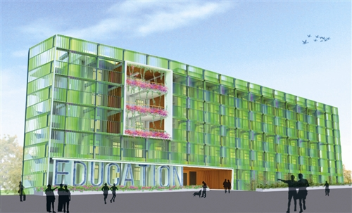 自強館變身新教育館 未來容貌面世