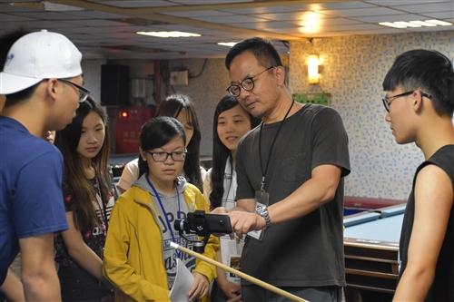 大傳系舉辦「2016青少年行動微電影進階營」。