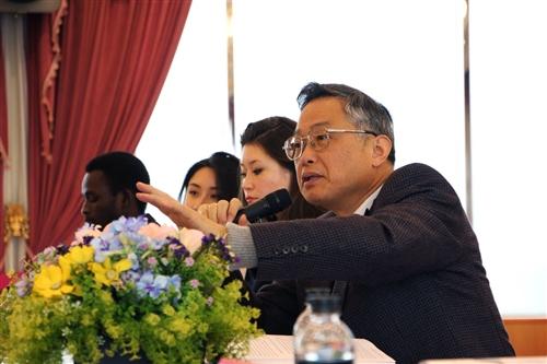 國際處舉辦「淡江大學世界青年領袖論壇」。