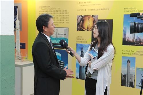 「風工程特展」展出國內風工程發展與風洞試驗成果。
