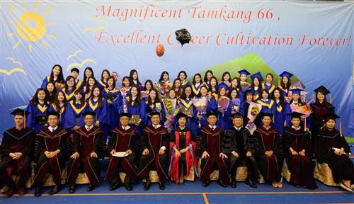 蘭陽校園舉辦第8屆畢業典禮。