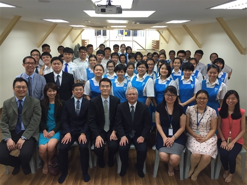 本校馬來西亞校友會歡慶創會20週年。
