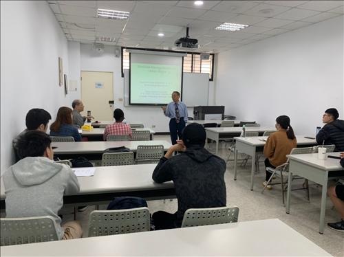張建祺 博士(CHEIN-CHI CHANG, Ph.D., P.E.)演講實況2