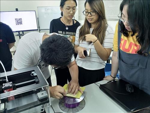 3D列印過程3