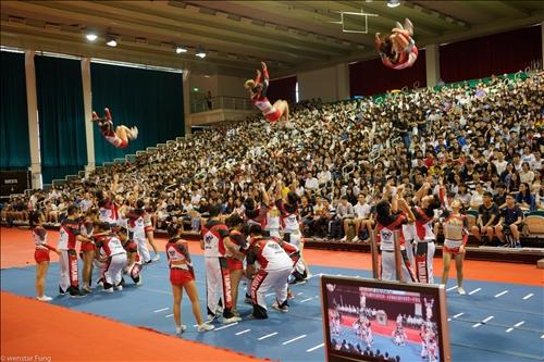 10-108年9月5、6日新生開學典禮,社團表演。