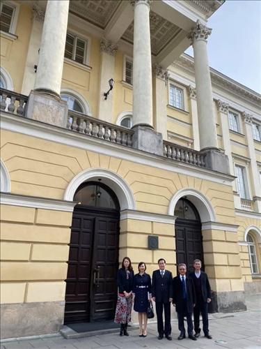 40-本校訪問團至波蘭姊妹校華沙大學參訪