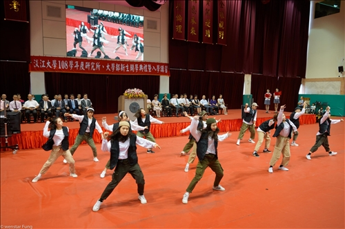 12-108年9月6日新生開學典禮,熱舞社表演。