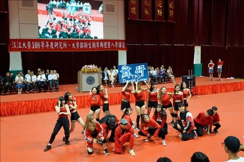 9-108年9月5日新生開學典禮,熱舞社表演