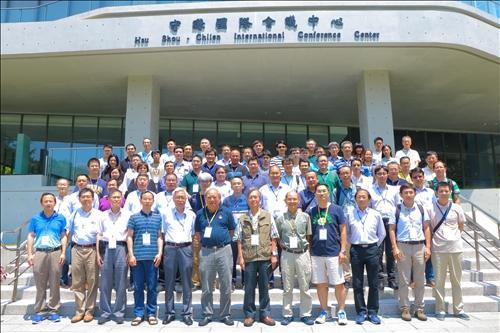 1-108 年 8 月 12 至16 日「第十屆海峽兩岸統計物理會議」在本校淡水校園守謙國際會議中心舉行。