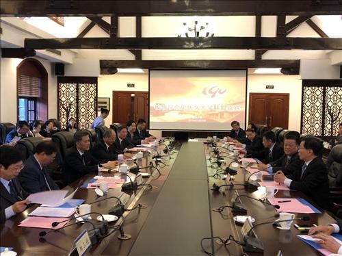 6-優久大學聯盟代表團與重慶大學舉行交流座談