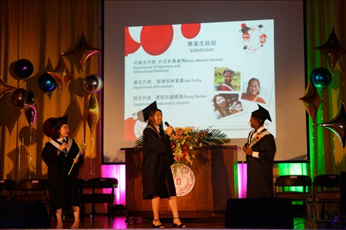 2019境外生畢業典禮,祝展翅高飛、遨翔國際!