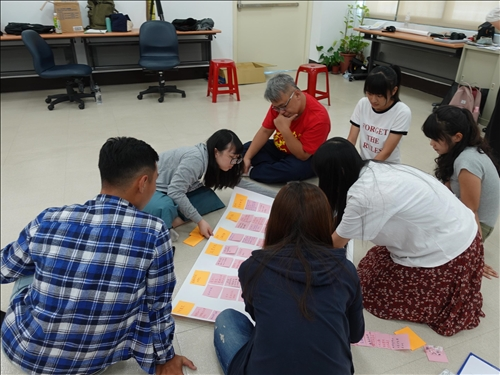 15-安定堂胡嘉裕執事參與學生的腦力激盪討論