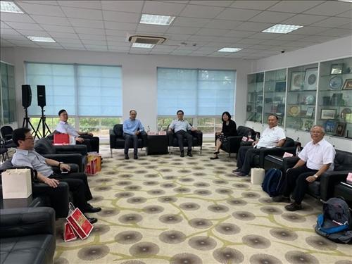7-108年8月9日本校與上海復旦大學進行姊妹校會談