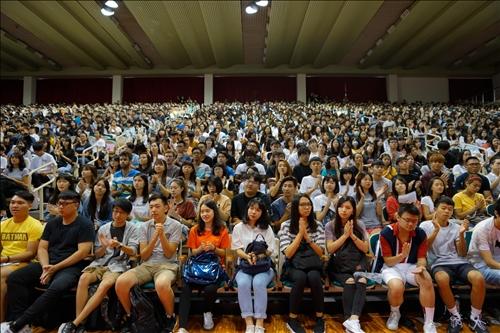 20-108年9月5日新生開學典禮會場(2)