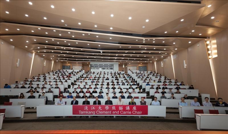 108年3月26日上午第7場「熊貓講座」於淡水校園守謙國際會議中心有蓮廳舉辦,與會師生約300多人。