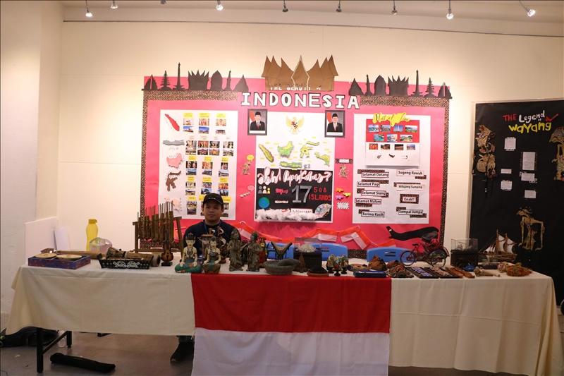印尼文物展區