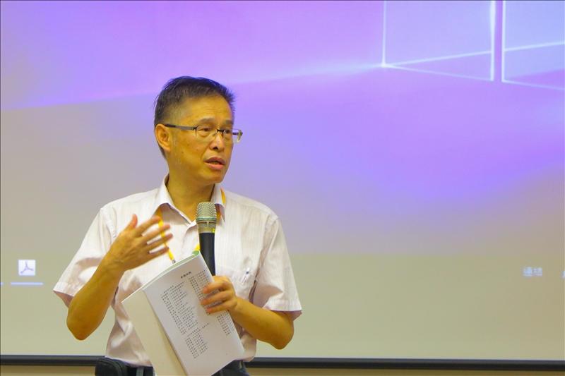 3-主辦委員、淡江大學物理系周子聰老師主持開幕
