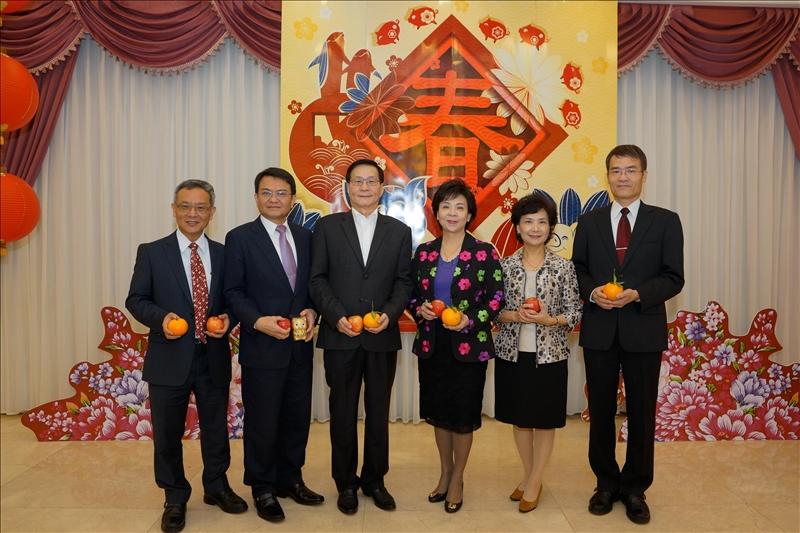 108年2月15日上午10時於淡水校園覺生國際會議廳舉行
