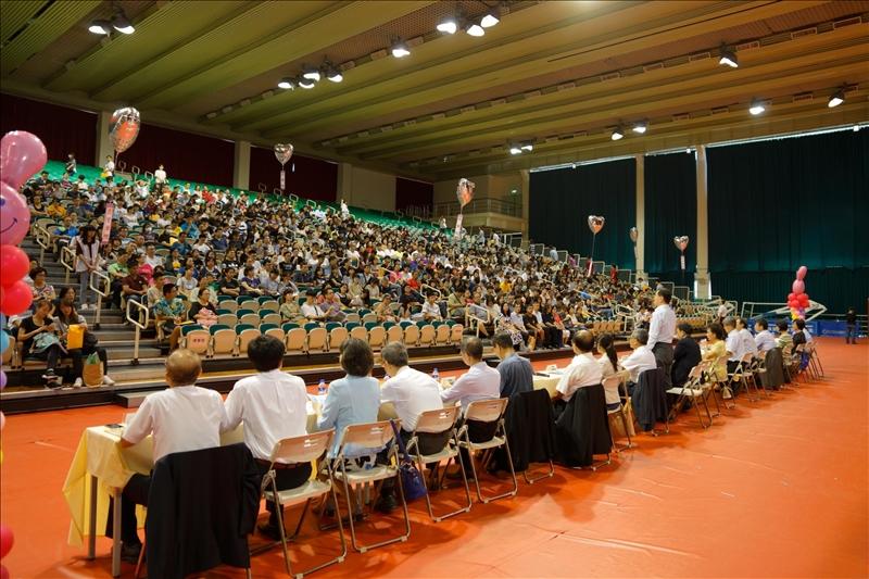 108年8月24日在淡水校園舉辦的新生暨家長座談會會場(1)