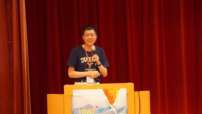 7-會計系顏信輝前主任,分享經驗。