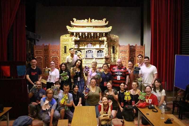 WSU at TKU_0706文化參訪_李天祿布袋戲博物館