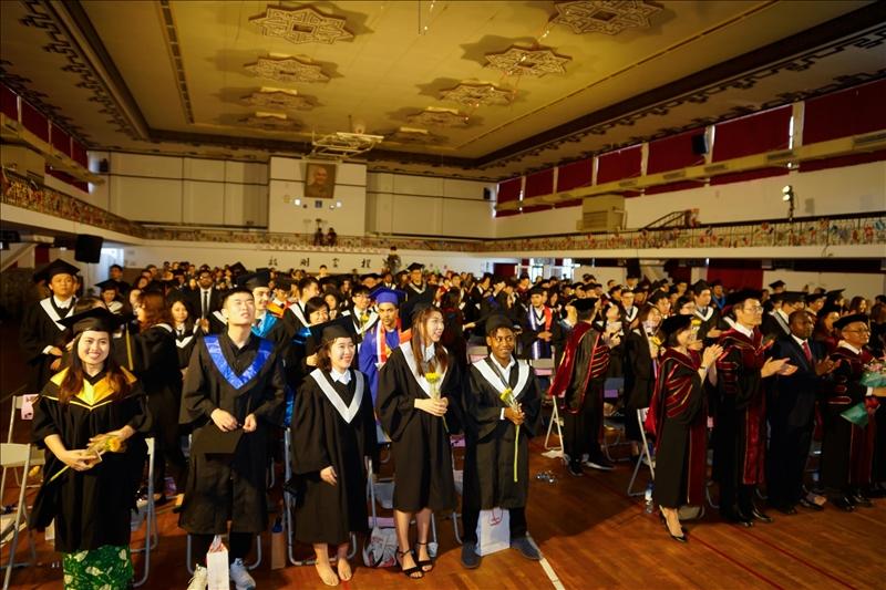 2019境外生畢業典禮圓滿結束。