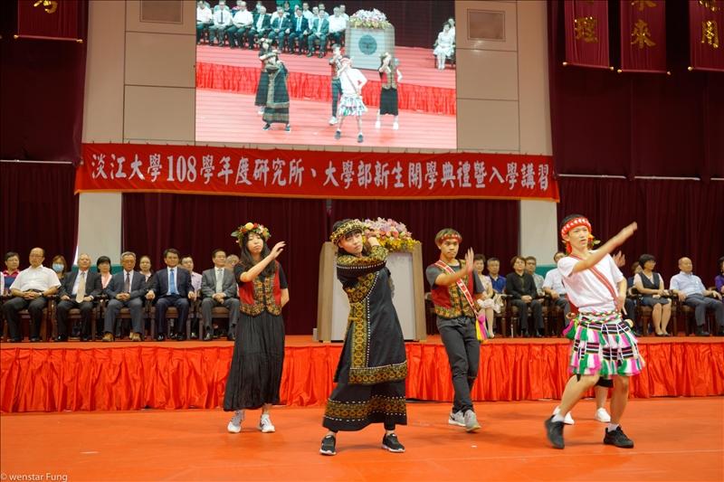 11-108年9月5、6日新生開學典禮,社團表演。