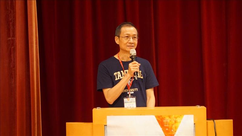 6-商管學院蔡宗儒院長,分享經驗。
