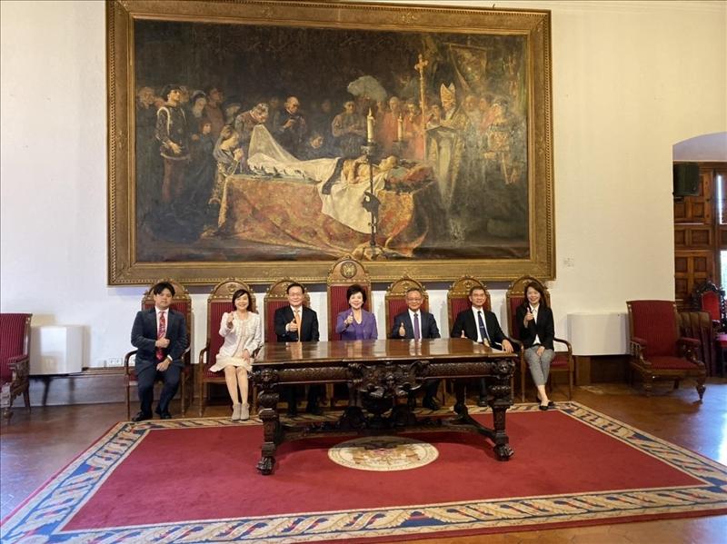 31-本校訪問團至西班牙姊妹校格拉納達大學參訪