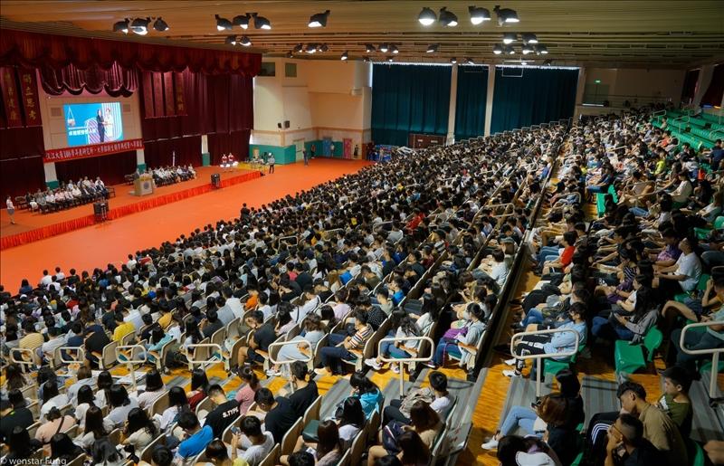 21-108年9月6日新生開學典禮會場