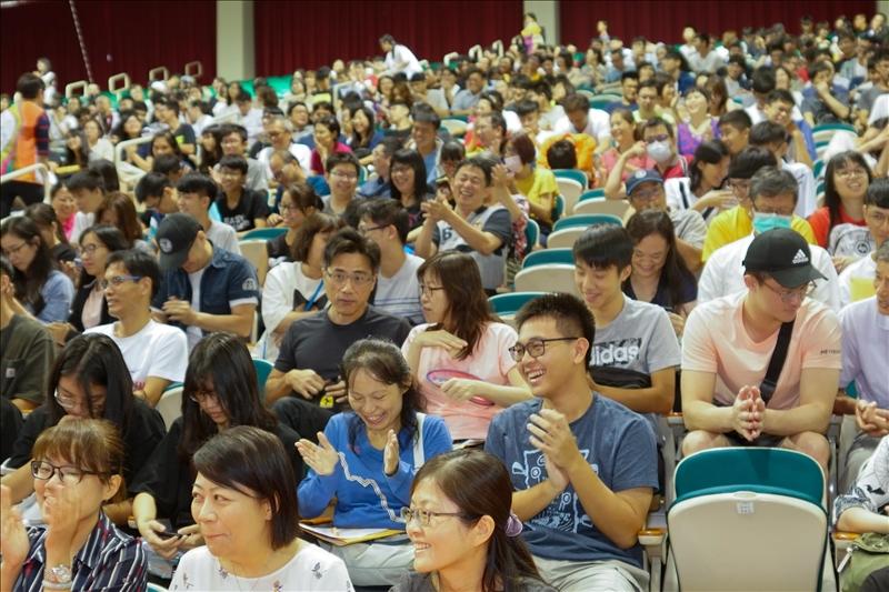 108年8月24日在淡水校園舉辦的新生暨家長座談會會場(3)