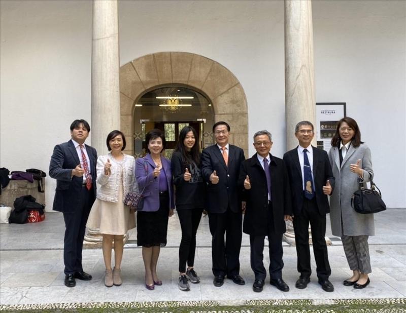 27-108年11月15日本校訪問團至西班牙姊妹校格拉納達大學參訪