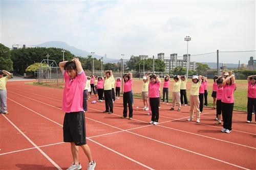 每週校園健走,輕鬆走出健康。