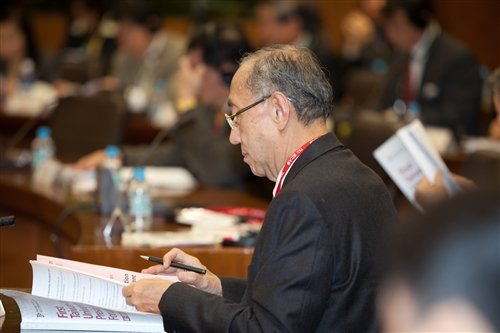 首屆臺日大學校長論壇在本校舉行。