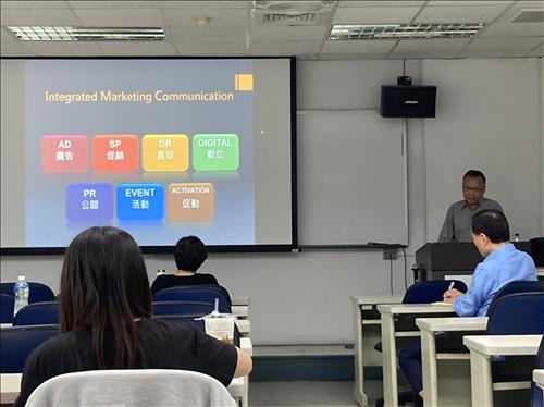 講師以行銷活動之分類揭開序幕