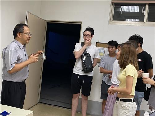 外籍生同學參加活動