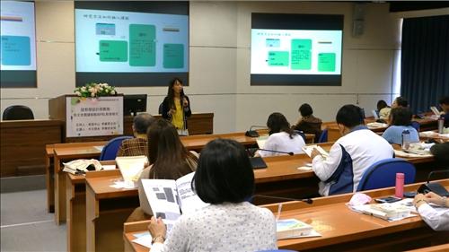 李老師分享不同的教學模式各有優點,可以融入不同的元素讓課程更豐富