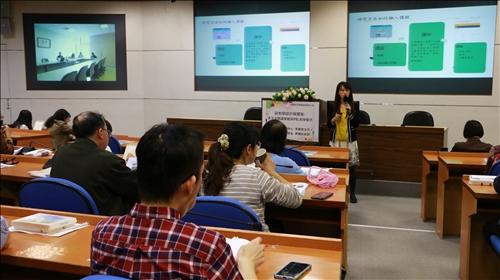 李老師分享課程的規劃及實施情況